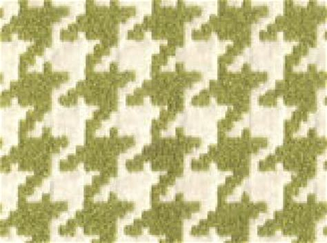 Large Scale Houndstooth Upholstery Fabric by Houndstooth Moss Green And Ivory Classic Houndstooth Heavy