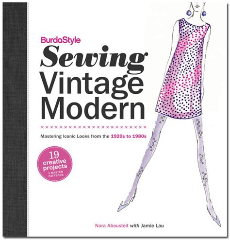 books on pattern making and sewing announcing the new burdastyle sewing vintage modern book