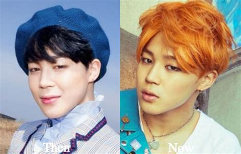 bts plastic surgery jimin plastic surgery bts before and after photos