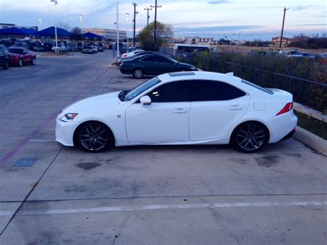 lexus is350 lowered rsr super down springs 14 is 350 club lexus forums