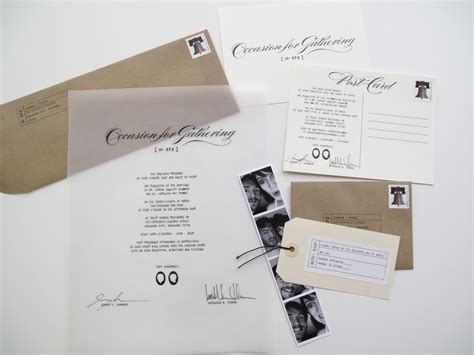 How To Make Paper Invitations - and j k the wedding invitations