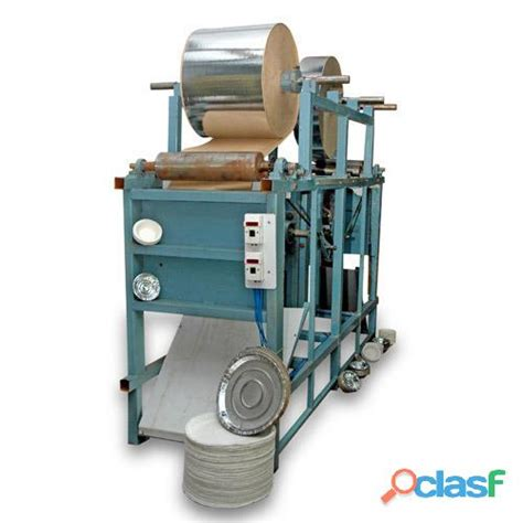 Paper Plate Machine - fully automatic single paper clasf