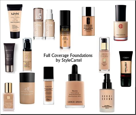 what is the best full coverage foundation for 2015 full coverage foundation top 5 high end drugstore