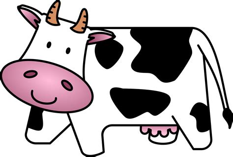 clip of cow clip cliparts co