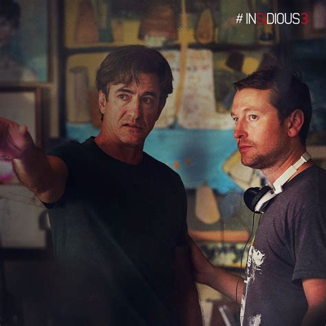 leigh whannell and angus sson insidious 3 photos du tournage popmovies