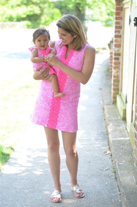 mother and daughter matching dress mommy daughter lilly pulitzer by lauren m