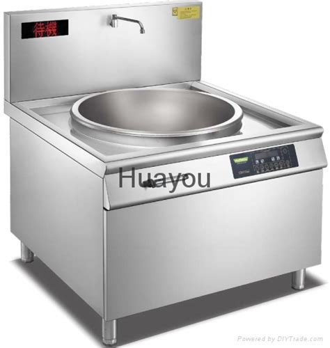 induction cooker diy commercial induction cooker big wok hy2 1 8020a huayou china manufacturer food beverage