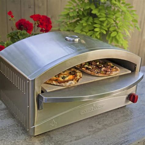 stovetop pizza oven c chef italia artisan portable propane gas pizza oven