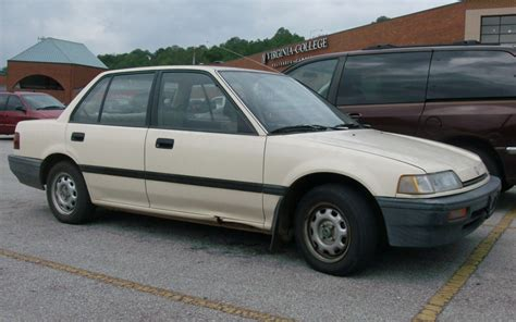 vehicle repair manual 1988 honda civic on board diagnostic system gas classic 1988 honda civic dx seen on the street