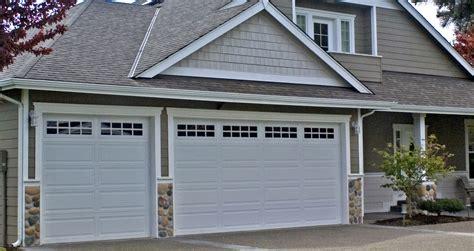 ranch house garage doors residential commercial garage doors northwest door