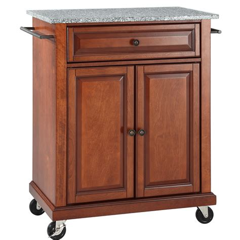Movable Kitchen Cart by Solid Granite Top Portable Kitchen Cart Island In Classic