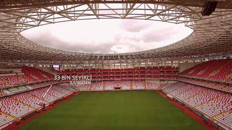 New Atalya antalyaspor new stadium in antalya