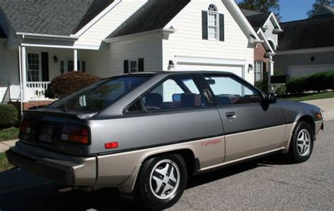 mitsubishi cordia for sale almost 30k mile 1984 mitsubishi cordia turbo