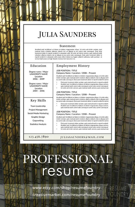 5 Letter Words Resume classic resume template ms word more professional