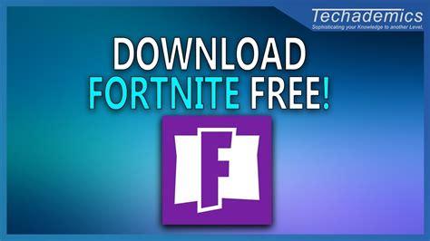 install fortnite  windows  pc mac