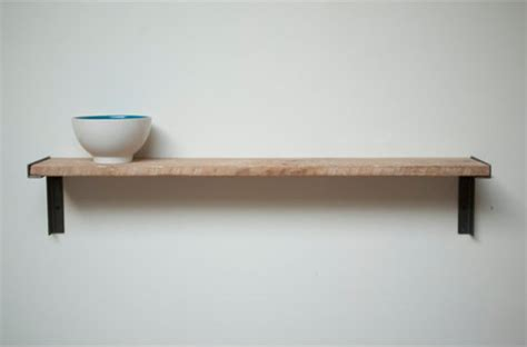 Shelf On Wall by Minimal Wall Mount Shelf Reclaimed Growth Wood And