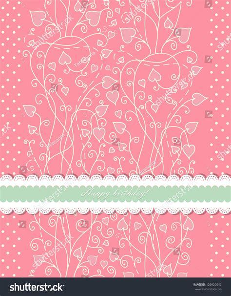 Vintage Pink Background For Invitation Backdrop Card New Year Brochure Banner Border Backdrop Banner Template
