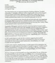 Position Essay Topics For College by 4 Eso Bilingual Valle De Camargo Exle Position Paper