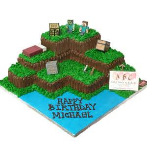2003 minecraft land cake abc cake shop amp bakery