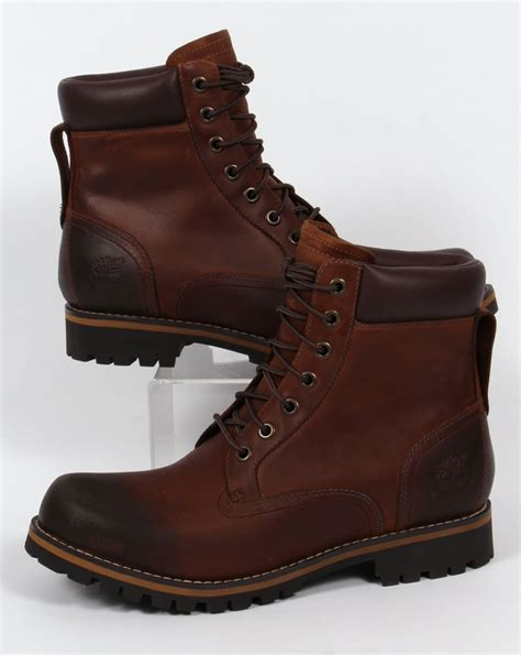 timberland rugged timberland rugged 6 inch boot brown s