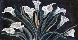 Green Wall Murals floral mosaics your way