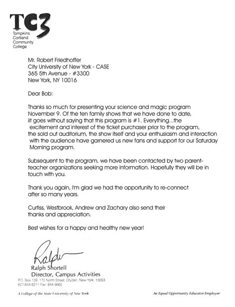 Manhattanville College Letter Of Recommendation Letter Of Application Letter Of Application For College
