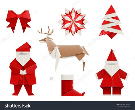 How To Make A Origami Santa - origami step by step how to make origami