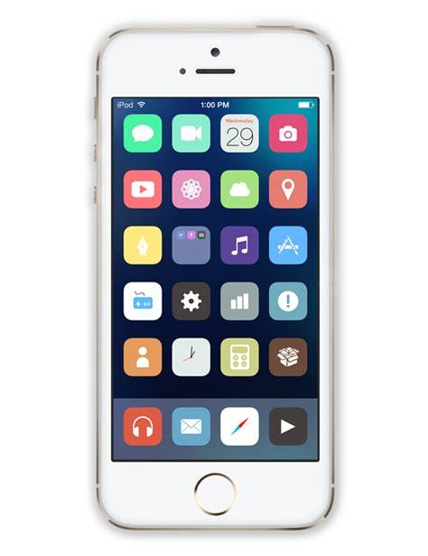 themes iphone ios 7 winterboard liminal ios 7 theme flatter minimal