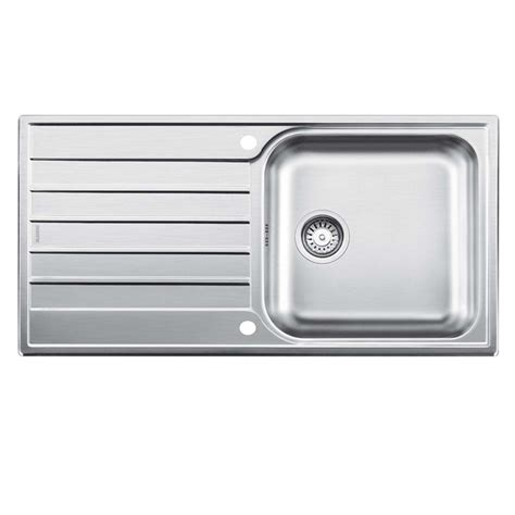 blanco stainless steel sink blanco livit xl 6 s stainless steel sink kitchen sinks