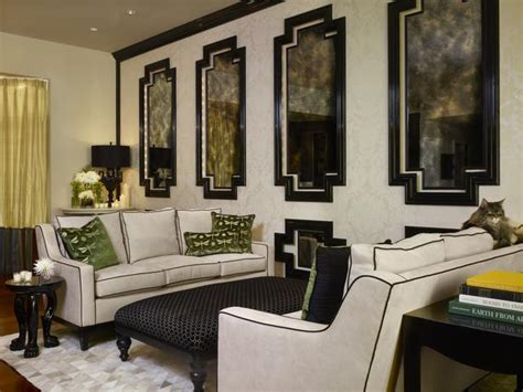 Hgtv Interior Design by Beautiful Antique Mirrors In Living Room Hgtv