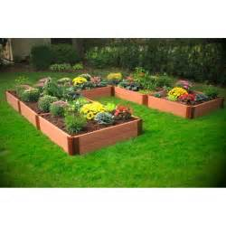 Garden Beds U Shaped Composite Raised Garden Bed 12 X 12 X 12 X