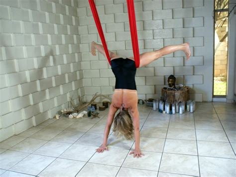 yoga swing tutorial 223 best aerial yoga and dance images on pinterest