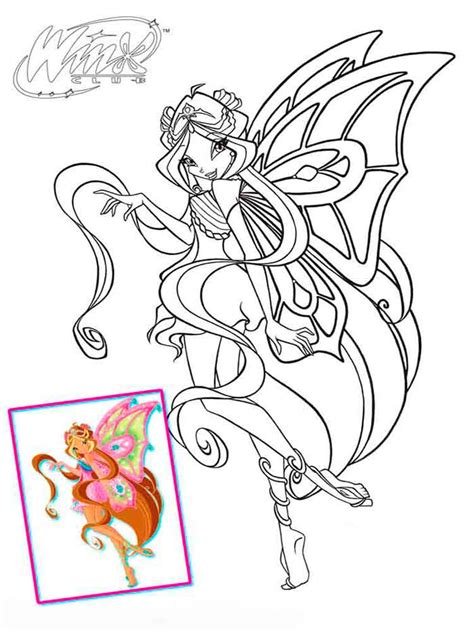 flora winx coloring pages download and print flora winx
