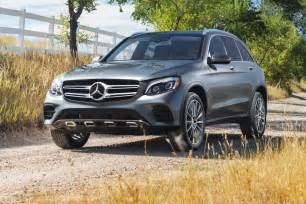 Mercedes Suv Mercedes Glc Class Is The 2017 Motor Trend Suv Of The