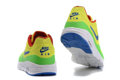 donna blue green new high quality nike air max 1 donna yellow green