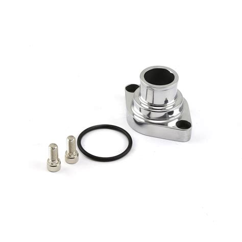 chevy sbc 350 up aluminum thermostat housing