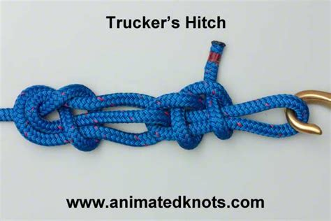 Hitch Knot - trucker s hitch how to tie a power cinch knot knots