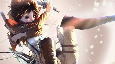 anime attack on titan mikasa warrior anime attack of the titans wallpapers and