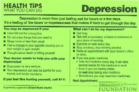 L For Depression by Health Tips Depression Pads Of 50