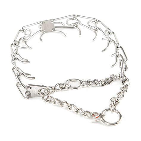 cadena para perro alemana collar para perro acero inoxidable con puas tiendanimal
