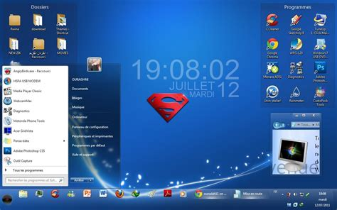 themes for windows 7 blue super sweet blue theme for windows 7