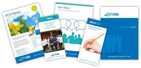 leaflet design plymouth plymouth community healthcare leaflets logo design logo