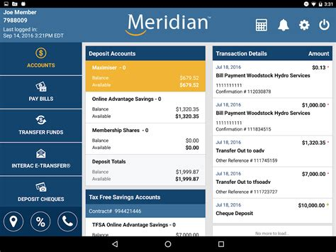 sparda bank app android meridian mobile banking android apps on play
