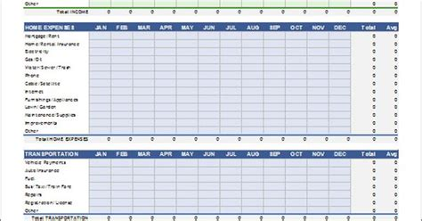 monthly budget template excel 2007 personal budget spreadsheet template for excel 2007