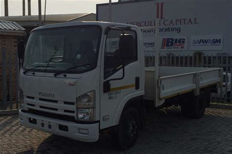 2017 isuzu npr 300 amt dropside truck trucks for sale in