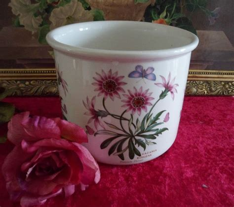 Botanic Garden Pottery Large Portmeirion Botanic Garden Jardiniere Flower Pot In Pottery Porcelain Glass Pottery