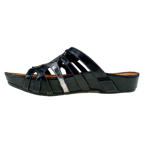 Earth Shoes by Kalso Earth Shoe S Enthuse Sandals In Black Galyshoe