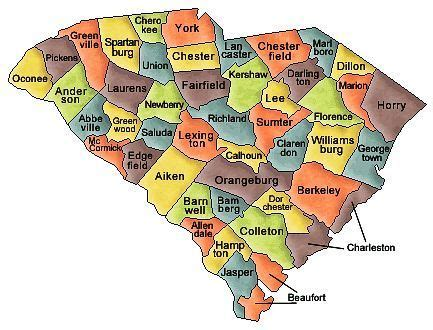 american tribes south carolina map interesting facts about the history of south carolina