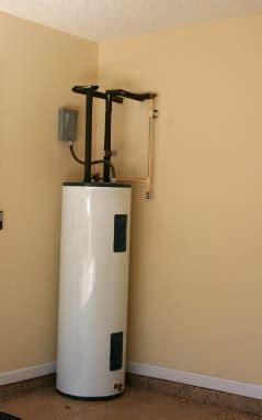 electric water heaters narrow path plumbing