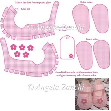Baby Shoe Template For Card by Mini Pink Shoe Template 163 1 50 Instant Card